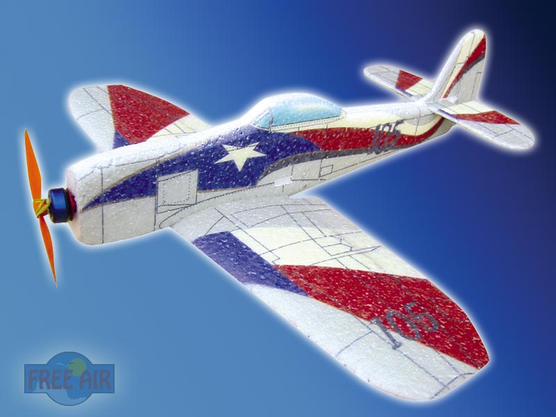 RC model micro Spirit of Texas
