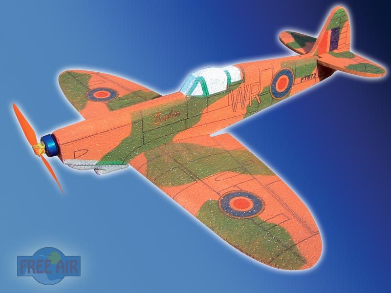 RC model micro Spitfire